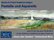 Luzern, Rostock, Aquarellmalerei, Fischerboot