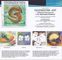 Ausstellung, Sternzeichen, Kerstin mempel, Sternwarte