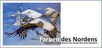 Pastelle, Aquarellmalerei, Ausstellung, Universität rostock