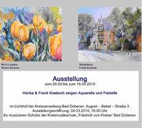 Doberan, Aquarellmalerei, Ausstellungseröffnung, Ausstellung