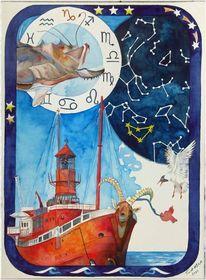 Hafen, Hamburger hafen, Navigation, Feuerschiff