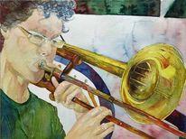 Jazzclub, Nina leni, Steffen greisiger, Trombone
