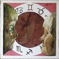 Tierkreiszeichen zwillinge, Zwillinge, Stern, Sternzeichen
