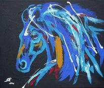 Malerei, Abstrakt, Friese