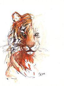 Malerei, Tiger