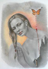 Portraitzeichnung, Zeichnung, Portrait, Porträtmalerei