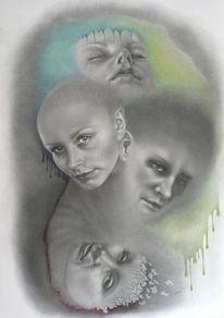 Portraitzeichnung, Porträtmalerei, Portrait, Zeichnung