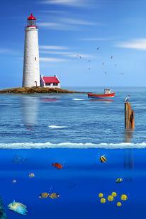 Wandbilder, Lustig, Meer, Relaxen