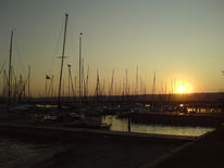 See, Sonnenuntergang, Fotografie