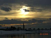 Eis, See, Wolken, Fotografie