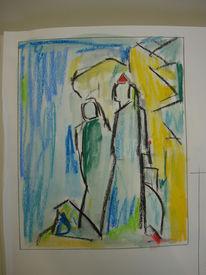 Paar, Liebe, Seele, Zeichnungen