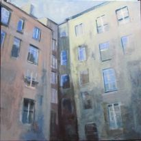 Malerei, Innenhof
