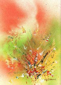 Blüte, Sprühdose, Blumen, Rispen
