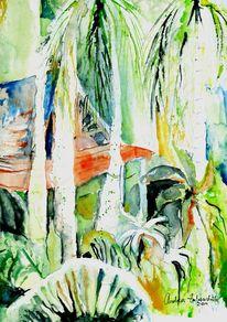 Pflanzen, Landschaft, Thailand, Palmen