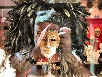 Fotografie, Spiegelbilder, Menschen, Maskerade