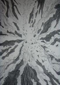 Hell, Zerbrechen, Lithografie, Druckgrafik