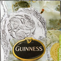 Collage, Frottage, Guinnes, Kunstbuch