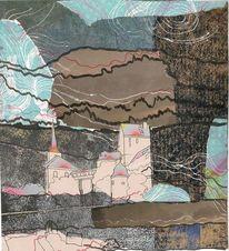 Grau, Collage, November, Burg