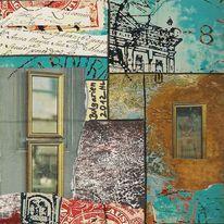 Bulgarien, Rückseite, Reisetagebuch, Collage