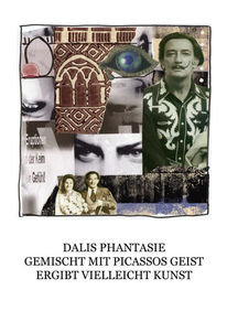 Haiku, Collage, Dalí, Mischtechnik