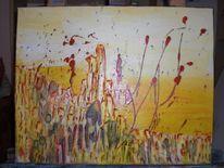 Abstrakt, Abstrakte gemälde, Abstrakte bilder, Acrylmalerei