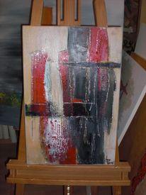 Modern, Abstrakte gemälde, Abstrakte bilder, Acrylmalerei