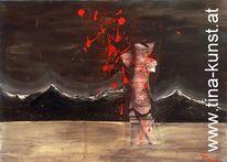 Modern, Acrylmalerei, Gemälde, Abstrakt