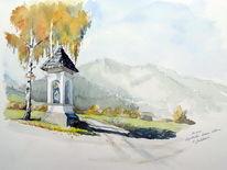 Herbst, Kapelle, Malerei