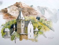 Steiermark erzberg, Eisenerz, Kirche, Gotisch