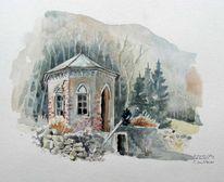 Malerei, Pavillon