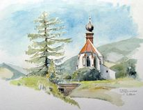 Steiermark, Gotisch, Kirche, Landschaft