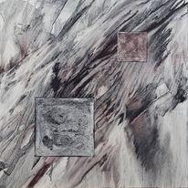 Pigmente, Aquarellmalerei, Abstrakt, Malerei