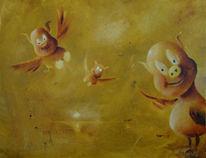 Malerei, Kleine tiere, Albtraum