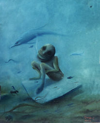 Malerei, Aquarium