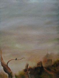 Malerei, Vogel, Kaiser