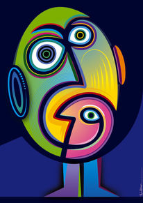 Emotion, Farben, Figur, Grafik