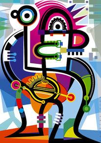 Farben, Vektorkunst, Figur, Abstrakt