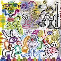 Figur, Verwirrung, Aggression, Wesen