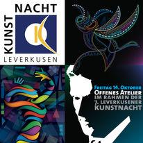 2011, Digital, Offenes atelier, Leverkusener kunstnacht