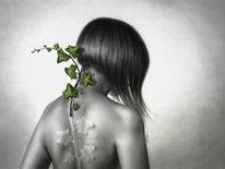 Wachstum, Hoffnung, Grün, Selbstportrait