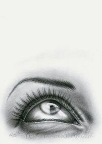 Augen, Himmel, Blind, Sehen