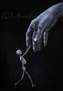Tod, Memento mori, Hand, Tödlein
