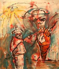Malerei, Figural, Erleuchtung