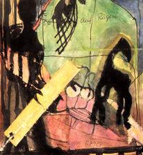 Schwarz, Tiere, Rosa, Figur