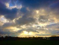 Sonne, Himmel, Morgen, Landschaft