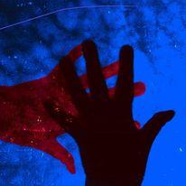 Himmel, Hände, Schatten, Dunkel