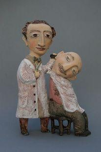 Skulptur, Keramik, Barbier, Yalonetski