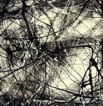 Abstrakte malerei, Weiß, Abstrakt, Abstrakte kunst