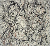 Schwarz, Lines expressiv, Abstrakt, Weiß
