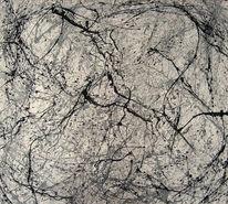 Abstrakt, Schwarz, Abstrakte malerei, Malerei